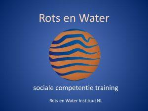 Trainer Rots en Water